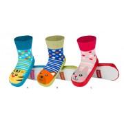 Κάλτσες με δερμάτινη αντιολισθητική σόλα Soxo 87729-1